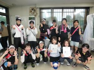 女子A級優勝と準優勝 旭川大成クラブAチームとBチーム