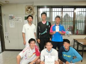 男子A級優勝 M1・1 Bチーム