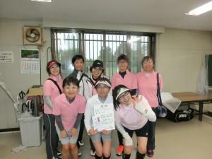 女子B級優勝 旭川女子クラブBチーム