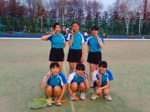 女子C級優勝東陽中学校Aチーム